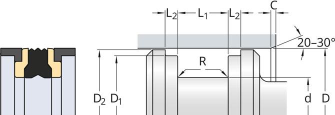 2.MD-L-profile-piston-seals-metric-sizes