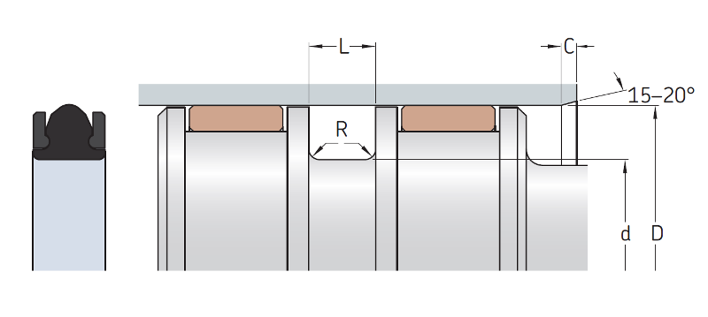 MPT-Piston-T-Seal