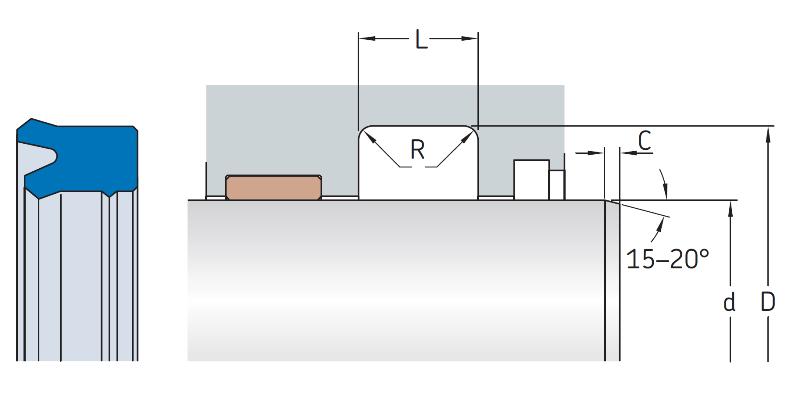 1.Metric-Rod-U-Cup-Seal